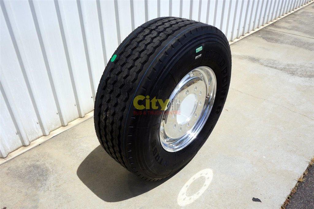10/285 11.75x22.5 Super Single Rim & Tyre Package