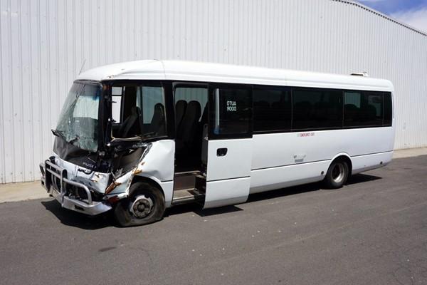 2011 Mitsubishi Rosa Deluxe Automatic Wreck