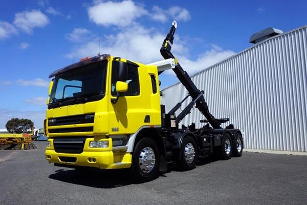 2008 DAF CF75 8x4 20 Ton Automatic Hooklift