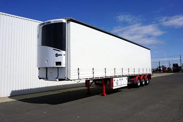 2018 Krueger ST3 22 Pallet Tri-Axle Refrigerated Curtainsider