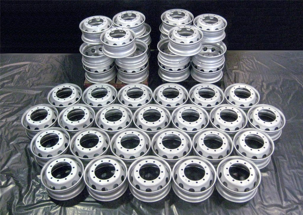 10/335 TAKE OFF STEEL RIMS - MADE IN EUROPE