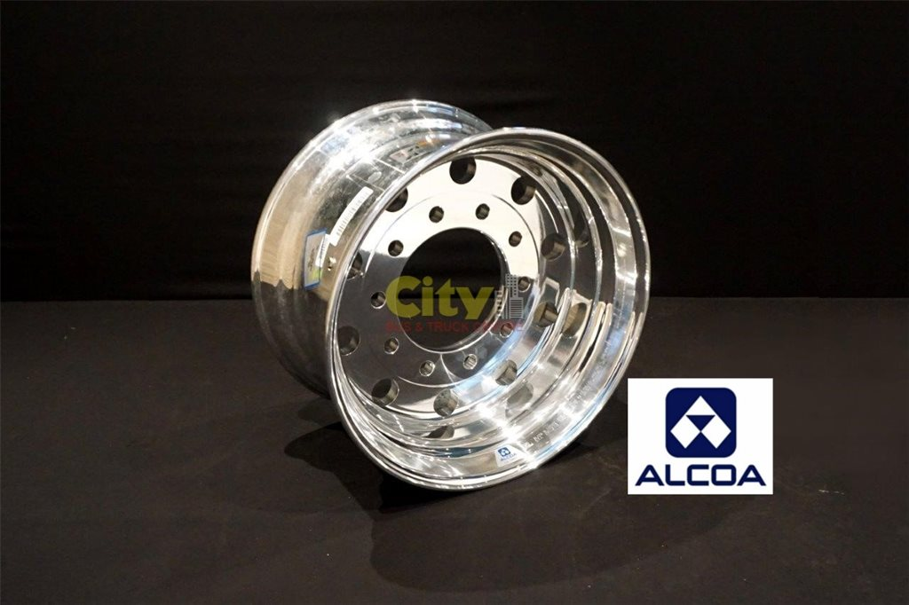 12.25x22.5 Alcoa LVL1 Supersingle Zero Offset Alloy Wheel