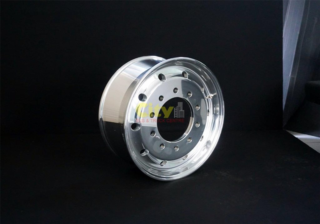 "10/285 9.00x22.5 9"" Offset Polished Alloy"