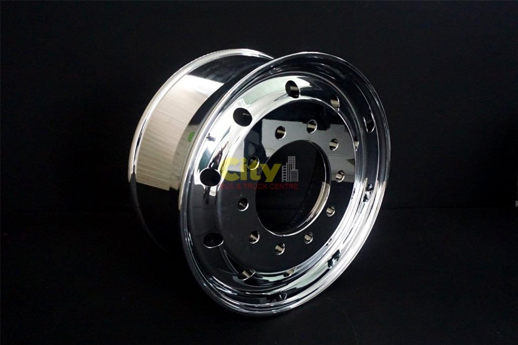 "10/285 9"" Offset Mirror Chrome Alloy Rim"