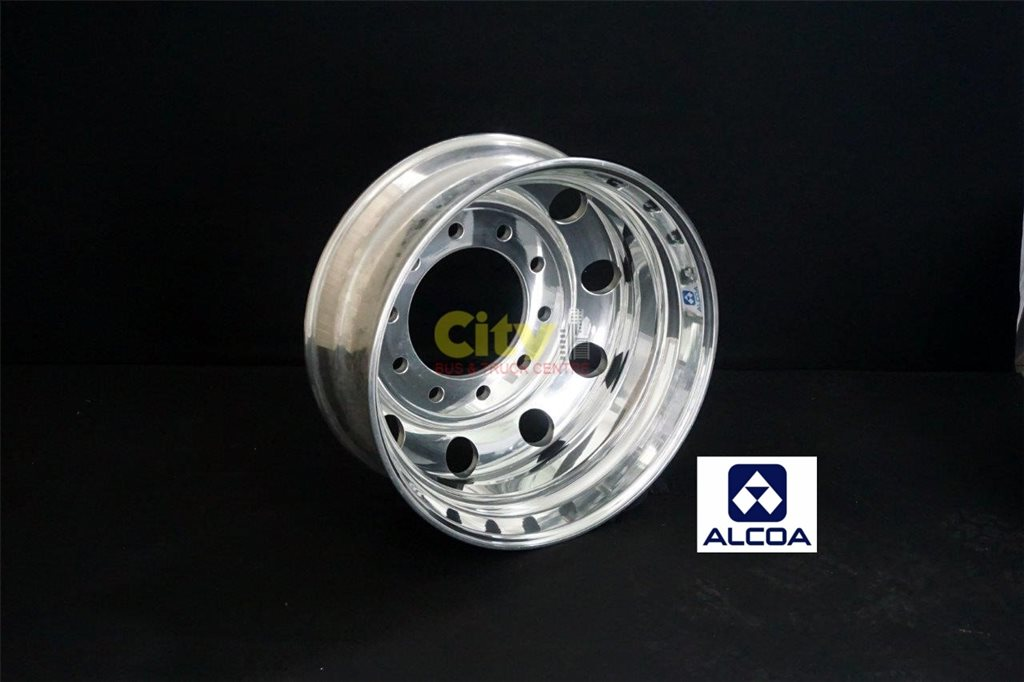 10/285 8.25x22.5 Alcoa Polished Drive Alloy Rim