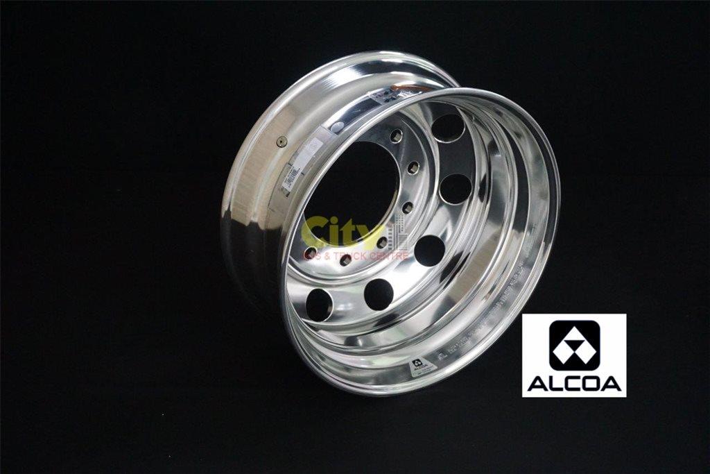 10/285 8.25x22.5 Alcoa Durabright Drive Alloy Rim