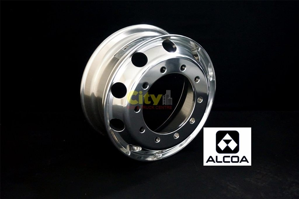 10/335 8.25x22.5 Alcoa Durabright Alloy Rims