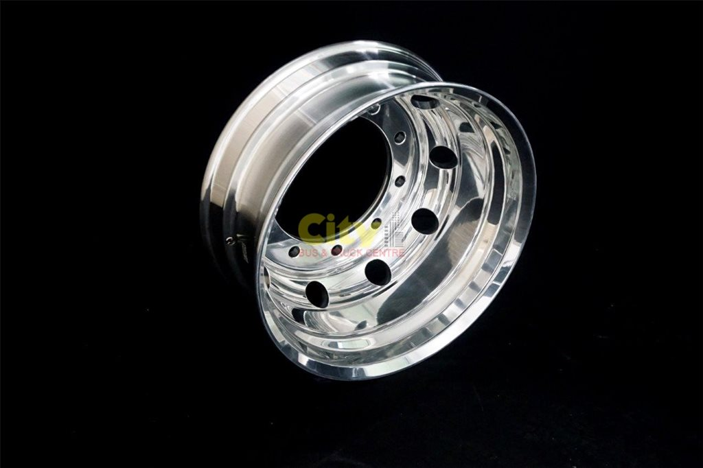 10/335 8.25x22.5 Polished Drive Alloy Rim