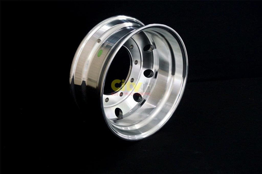 10/335 8.25x22.5 Machined Alloy Rim