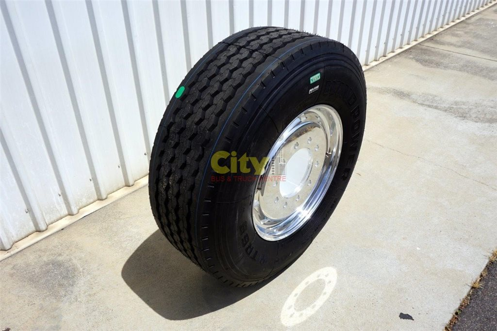 10/285 11.75x22.5 Super Single Rim & Tyre Package
