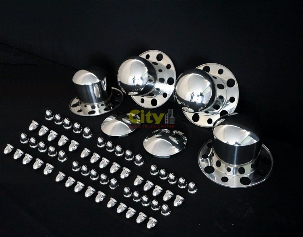 10/285 Stainless Steel Dress Rim Kits Suit Truck or Trailer