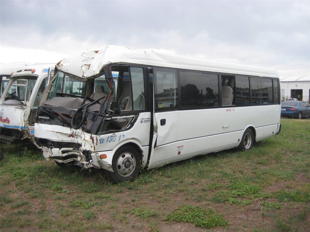 Mitsubishi Rosa Buses - Now Wrecking