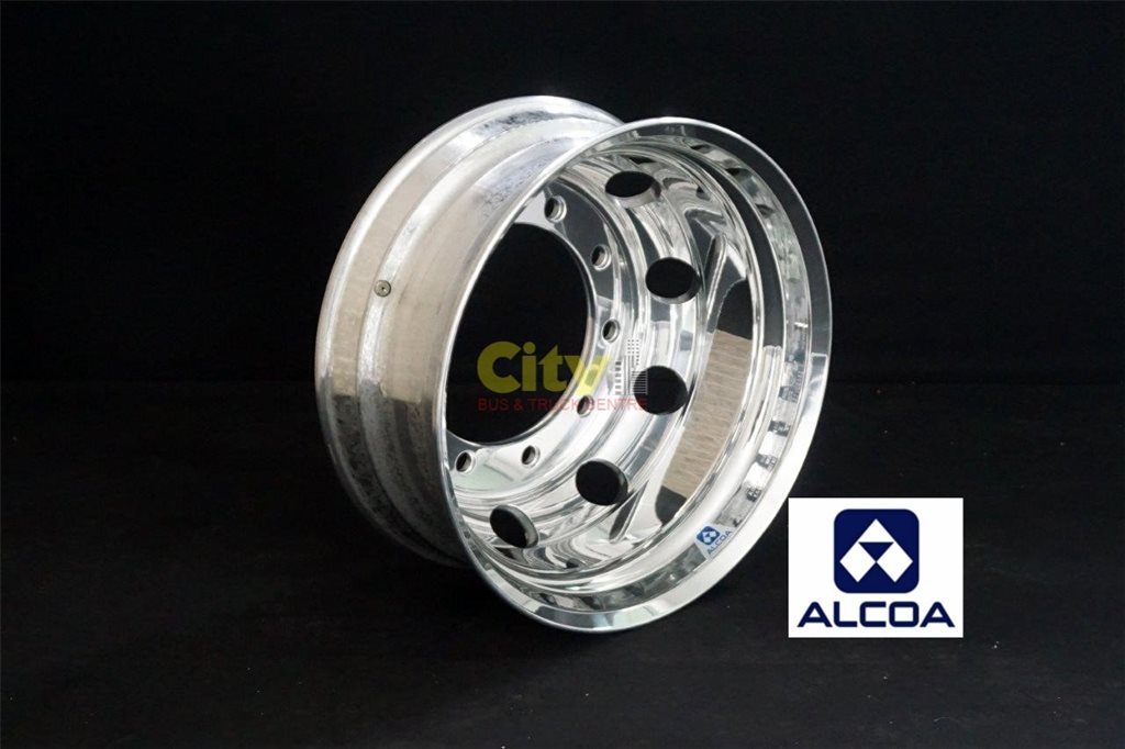 10/335 8.25x22.5 Alcoa Polished Volvo Only Alloy