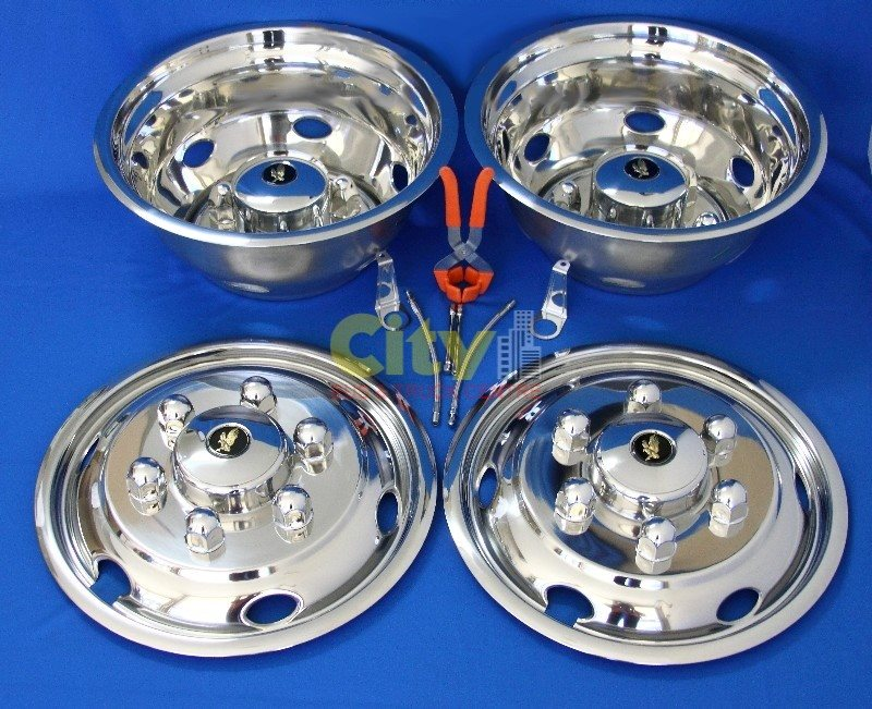 "Stainless Steel Wheel Simulator Suit 16.5"" Hino / Isuzu P# ISRT-16-DUT6"