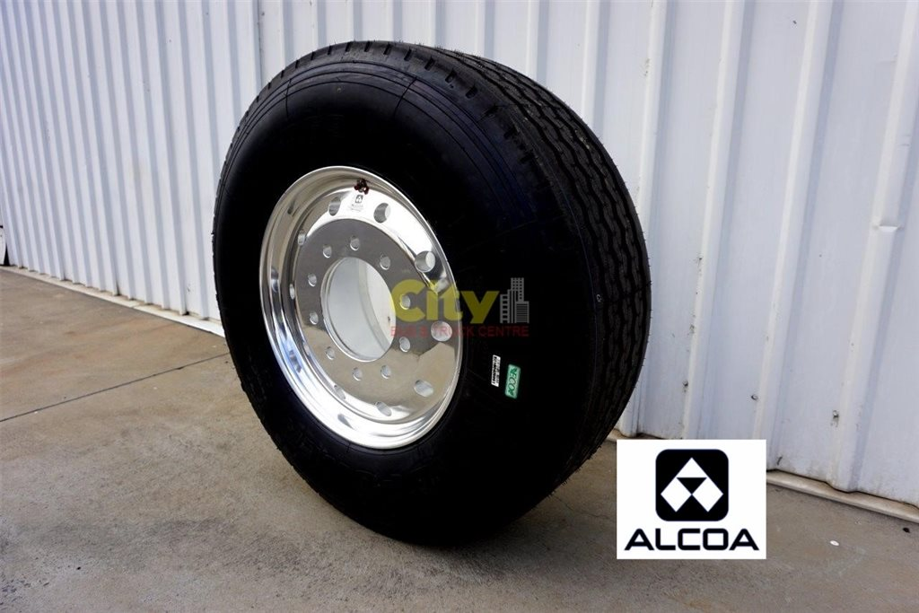 10/285 12.25x22.5 Alcoa Durabright Wheel & Tyre Package