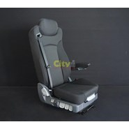 Mack Superliner Air Suspension Seat with Integrated Seatbelt & Armrest
