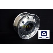 "10/285 Alcoa 9"" Offset Polished Steer Alloy Rim"
