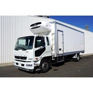 2012 Mitsubishi Fighter 1627 10 Pallet Refrigerated Truck