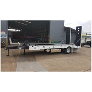 New FWR ELITE Single Axle Tag Trailer