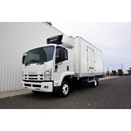 2012 Isuzu FRR600 8 Pallet Freezer Van
