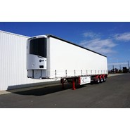 2018 Krueger ST3 22 Pallet Tri-Axle Refrigerated Curtainsider