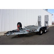 2004 ATA Trailers Dual Axle Galvanised Plant Trailer