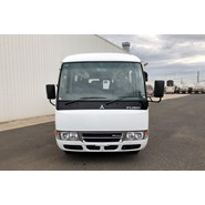 2014 Mitsubishi Rosa Deluxe 25 Seat Automatic Bus