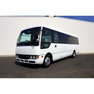 2012 Mitsubishi Rosa Deluxe 25 Seat Automatic Bus