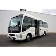 2018 Toyota Coaster Deluxe 22 Seat Automatic Bus
