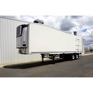 2013 FTE 18 Pallet Multizone Freezer Semi Trailer