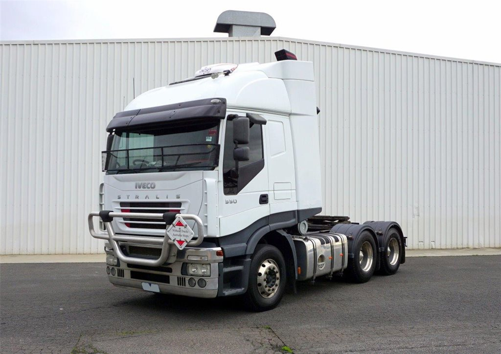2006 Iveco Stralis AS-550 Sleeper Cab Prime Mover